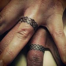 Wedding Ring Tattoos 33