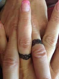 Wedding Ring Tattoos 43