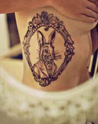 Alice in Wonderland Tattoos 17