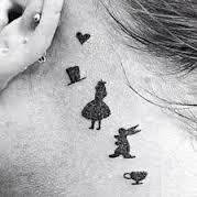 Alice in Wonderland Tattoos 30