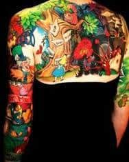 Alice in Wonderland Tattoos 31