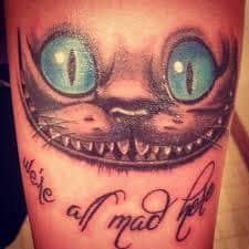 Alice in Wonderland Tattoos 45