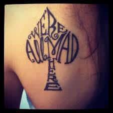 Alice in Wonderland Tattoos 49