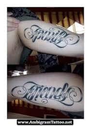 Ambigram Tattoos 25