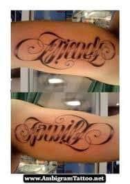 Ambigram Tattoos 29