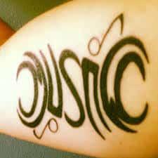 Ambigram Tattoos 40