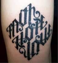 Ambigram Tattoos 43
