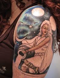 Aquarius Tattoos 43
