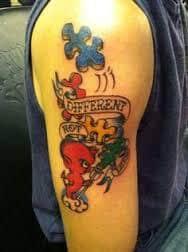 Autism Tattoos 16