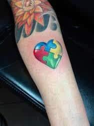Autism Tattoos 35