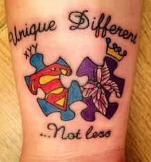 Autism Tattoos 48