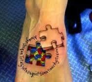 Autism Tattoos 54