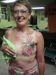 Breast Tattoos 31
