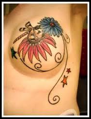 Breast Tattoos 34