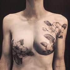 Breast Tattoos 48