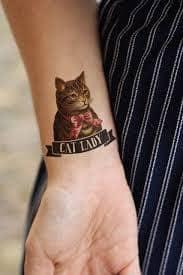 Cat Tattoos 12