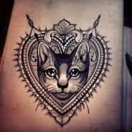 Cat Tattoos 20