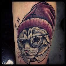 Cat Tattoos 38