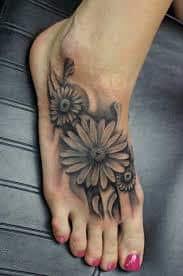 Daisy Tattoos 13