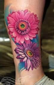 Daisy Tattoos 15