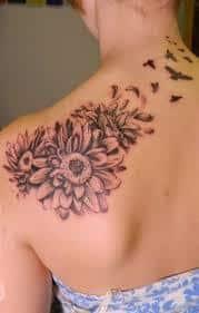 Daisy Tattoos 18