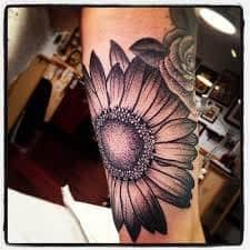 Daisy Tattoos 20