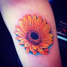 Daisy Tattoos 23