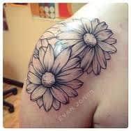 Daisy Tattoos 24