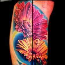 Daisy Tattoos 26