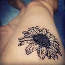 Daisy Tattoos 27