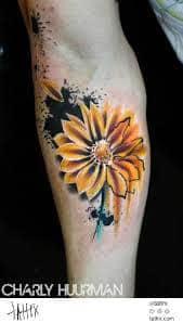 Daisy Tattoos 28