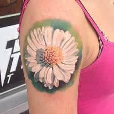 Daisy Tattoos 30