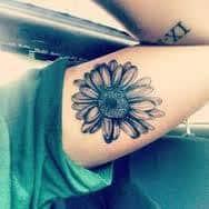 Daisy Tattoos 4