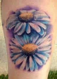 Daisy Tattoos 48