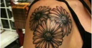Daisy Tattoos 5