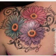 Daisy Tattoos 6