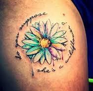 Daisy Tattoos 7