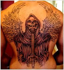 Grim Reaper Tattoos 11