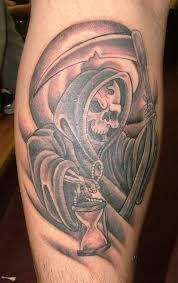Grim Reaper Tattoos 13