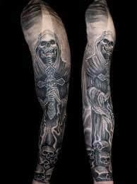 Grim Reaper Tattoos 16