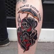 Grim Reaper Tattoos 21