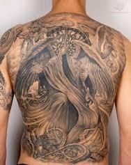 Grim Reaper Tattoos 25