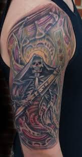 Grim Reaper Tattoos 27