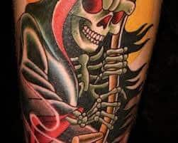 Grim Reaper Tattoos 28