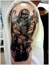 Grim Reaper Tattoos 29