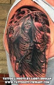 What Does Grim Reaper Tattoo Mean 45 Ideas And Designs