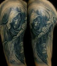 Grim Reaper Tattoos 31