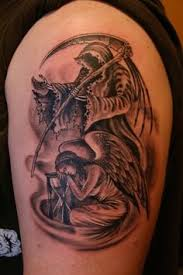 Grim Reaper Tattoos 33