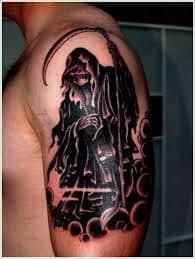 Grim Reaper Tattoos 39