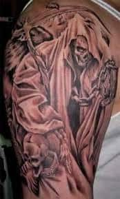 Grim Reaper Tattoos 40